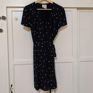 Sezane Anastasia Wrap Dress
